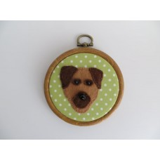 Border Terrier Wall Decoration