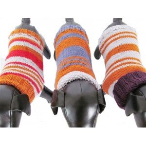 Riverbank Stripes Dog Sweater