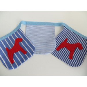 Terrier Motif Mini Fabric Bunting
