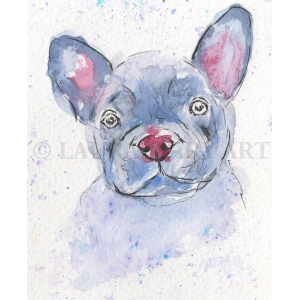 French Bulldog Giclée Print