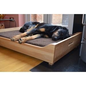 Solid Oak Dog Bed Frame