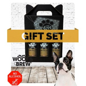 Bottom Sniffer - Beer for Dogs Gift Set