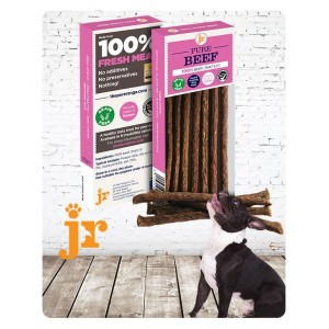100% Pure Beef Treat Sticks - JR Pet Products