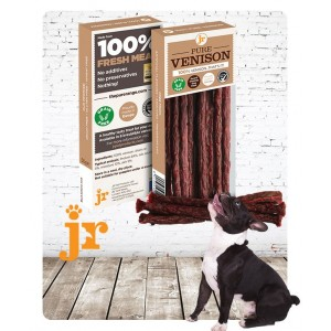100% Pure Venison Treat Sticks - JR Pet Products