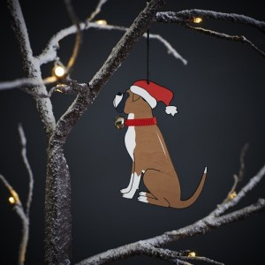 Boxer Christmas Tree Decoration