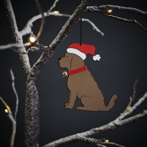 Cockapoo Christmas Tree Decoration