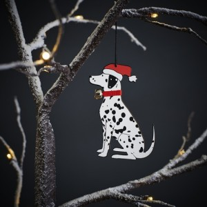 Dalmatian Christmas Tree Decoration