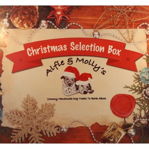 Alfie & Molly's Christmas Selection Box for Dogs | Natural Pet Box