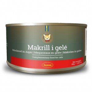 Mackerel in Jelly For Cats