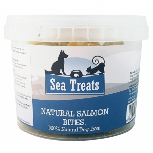 Natural Salmon Bites 200g Tub | Sea Treats