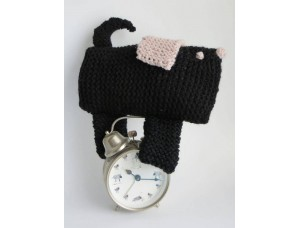 Hand Knitted Toy - Black