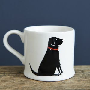 Black Labrador Mug (Single)