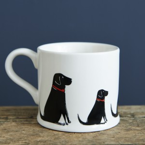 Black Labrador Mug (Multiple)