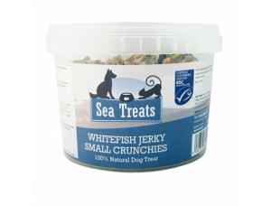 Whitefish Jerky Small Crunchies 100g Tub