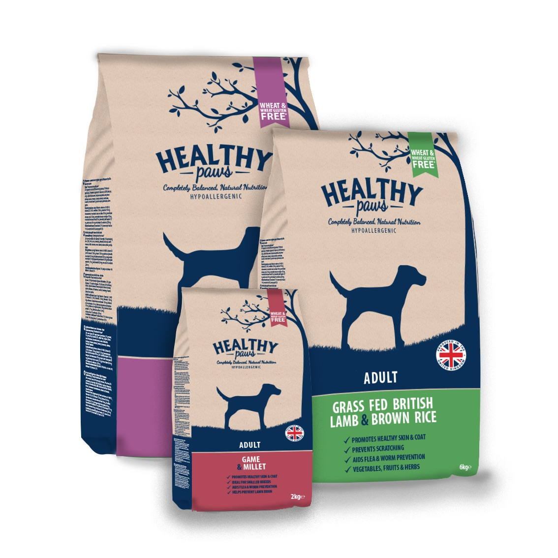 Healthy Paws Adult Bags