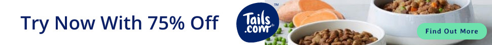 75% Off Tails Dog Food | Use Code MCPA2M