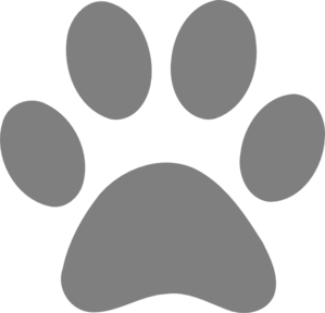 paw print clipart transparent 7