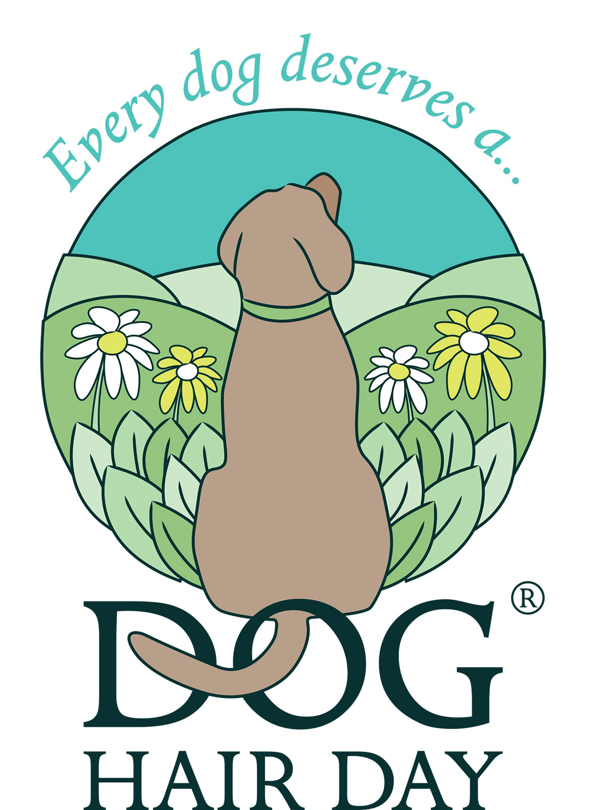 Dog hair Day logo