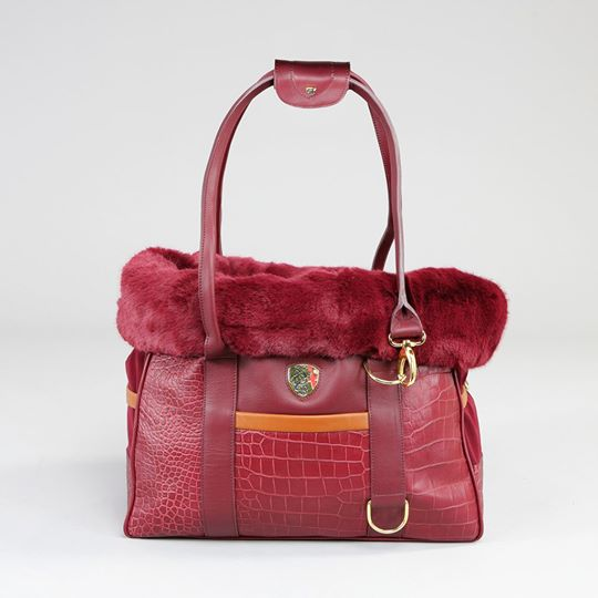 pet carrier red