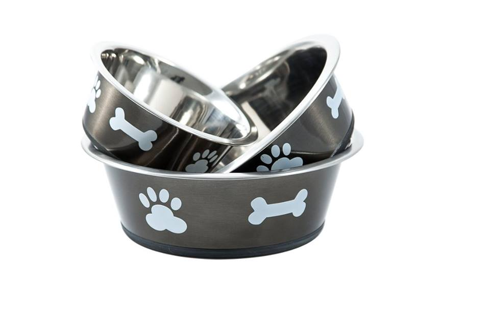 wall mounted dog bowl bowls feeding dogs the good vet pet guide. Black Bedroom Furniture Sets. Home Design Ideas