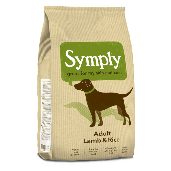 symply adult dog lamb xl 5 1