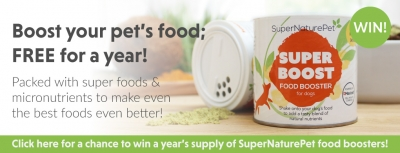 Win A Year's Free Supply of SuperNaturePet Food Boosters