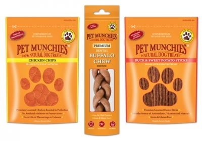 Win Pet Munchies  For Your Dog