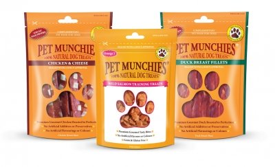 Win 100% Natural Treats From Pet Munchies
