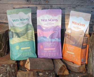 Win 3 x Bags of Wilsons Cold Pressed Dog Food
