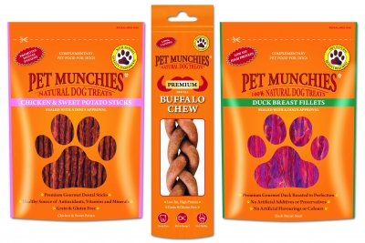 Win Gourmet Treats for Your Dog from Pet Munchies