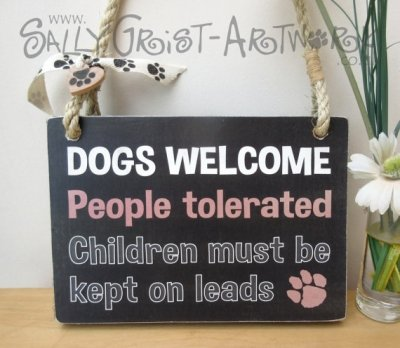 15 Signs For Dog Lovers