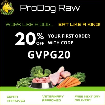 20% Off Your First Order from Prodog Raw