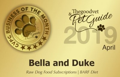 April 2019 - Bella and Duke