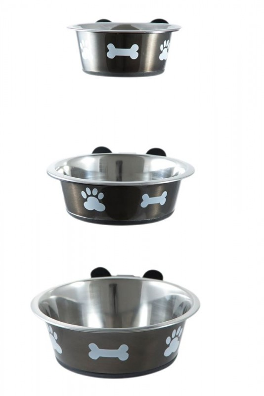 bigpaws co wall mounted dog bowl holder dog accessories. Black Bedroom Furniture Sets. Home Design Ideas