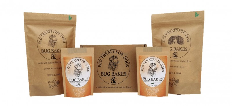 Bug Bakes Packaging
