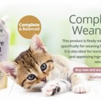 complete weaning paste for kittens