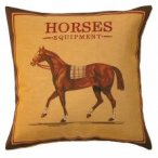Tapestry Cushion - Horse