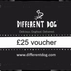 Different dog gift voucher
