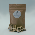 banana chips with packaging