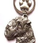 Soft Wheaten Terrier Keyring