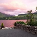 Petanque Piste, Pink sunset Loch Earn (640x360).jpg