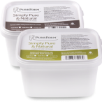 tubs of raw food for cats from purrform