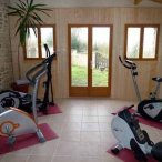 The Gym at Maison Lairoux