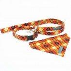 Wiff Waff Designs |  orange tartan set