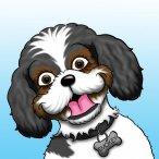 Pet caricature headshot