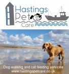 Dog walking St Leonards, Hastings and Fairlight.JPG