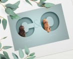 Oh So Portraits  | Pets in Letters | Coco and Olive