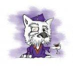 Westie Dog Caricature