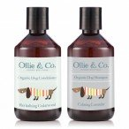 Ollie & Co Dog Shampoo and collars