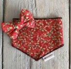 Christmas bandana and bow tie